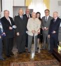 LAUREACI  odznaki Przyjaciel Rzeszowa odznaczeni  na zjeździe wyborczym TPRZ