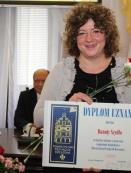 Dyplom dla Danuty Szudło